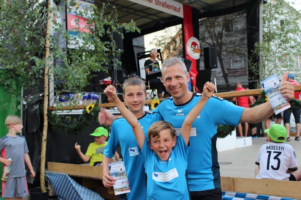 Staffelsieger beim Indersdorfer Straßenlauf 2018