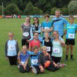 Team Leichtathletik SpVgg Röhrmoos - Kreismeisterschaften Hebertshausen