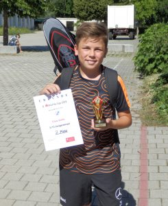 Schlägerhaltung Badminton