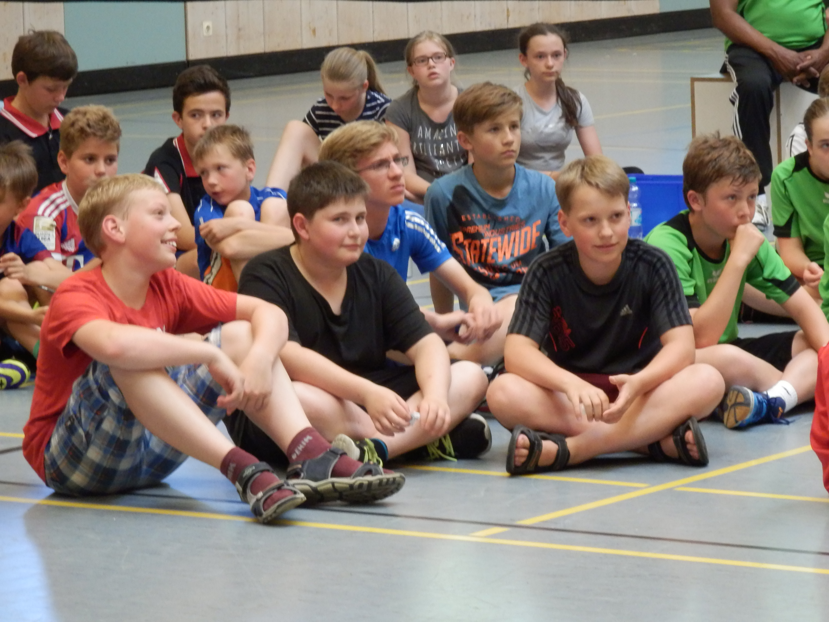 Badminton Schlägerhaltung