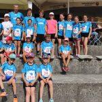 Eines der stärksten Teams - die Röhrmooser Leichtathleten beim Vierkirchner Turmlauf